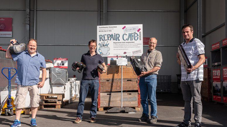 Vereinsmitglieder Repair Café Grenchen